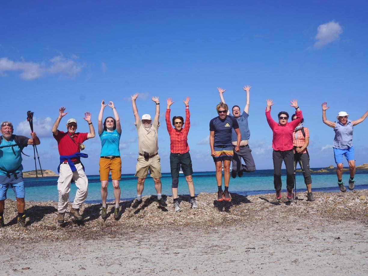 Group in Corsica with Corsica Aventure